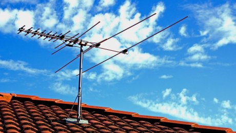 Outdoor digital TV aerial installation Perth Western Australia